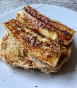 Super Sweet Caramelised Banana Bread