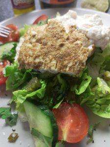 Warm Feta Salad