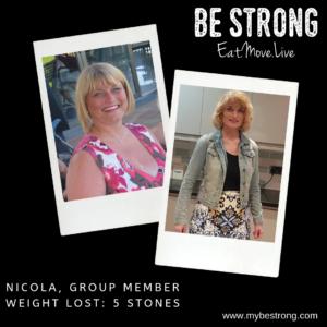 Nicola - 5 stones weight loss