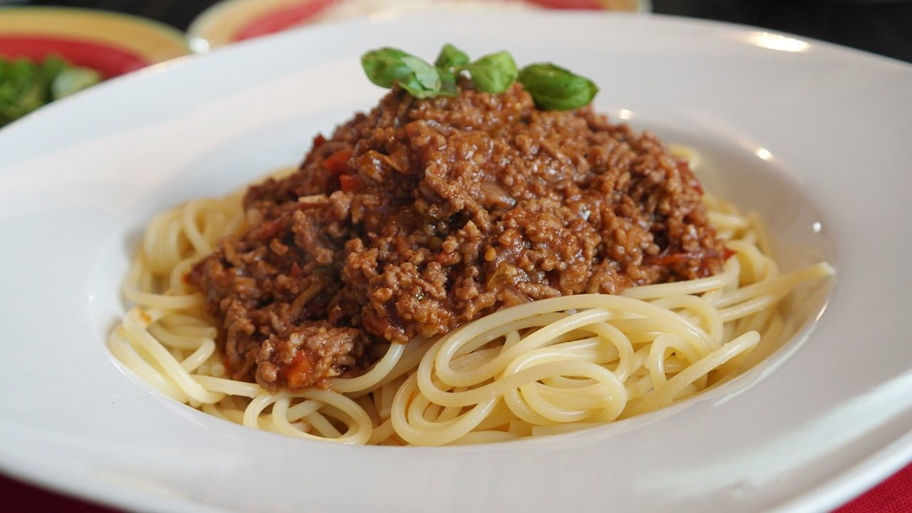Spaghetti Bolognese Be Strong