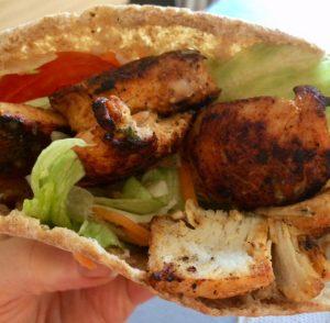 Fake Away Chicken Kebabs
